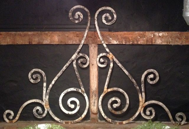 Fire Cut Steel Ornamental Brackets