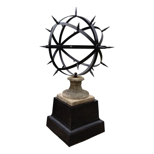 "Large ""Spiked"" Garden Sphere"