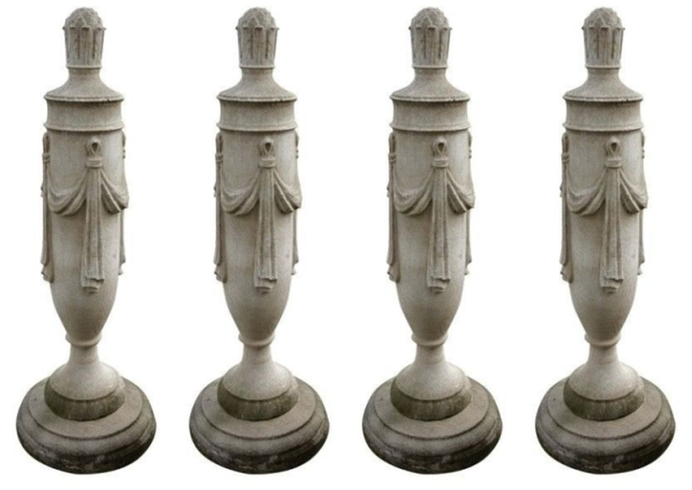 Cast Stone Lawndale Swagged Finial