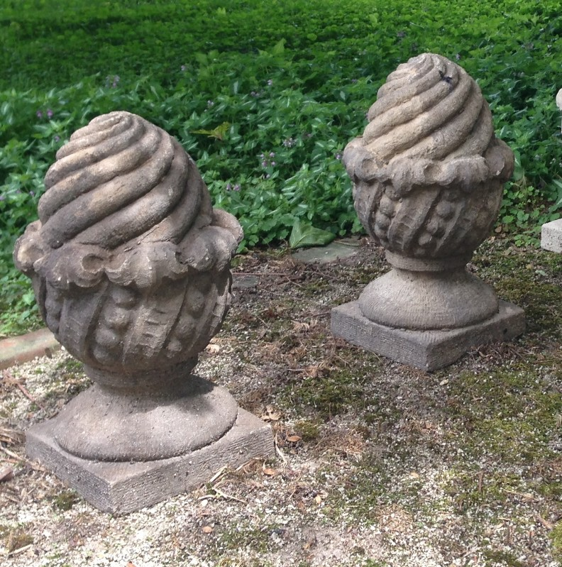 Lake Forest Acorn Finial Cast Stone