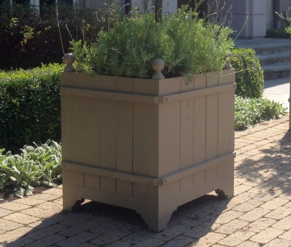 Reed - French Style Cedar Orangerie Planter Box