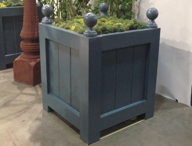 Murley - French Style Cedar Orangerie Planter Box