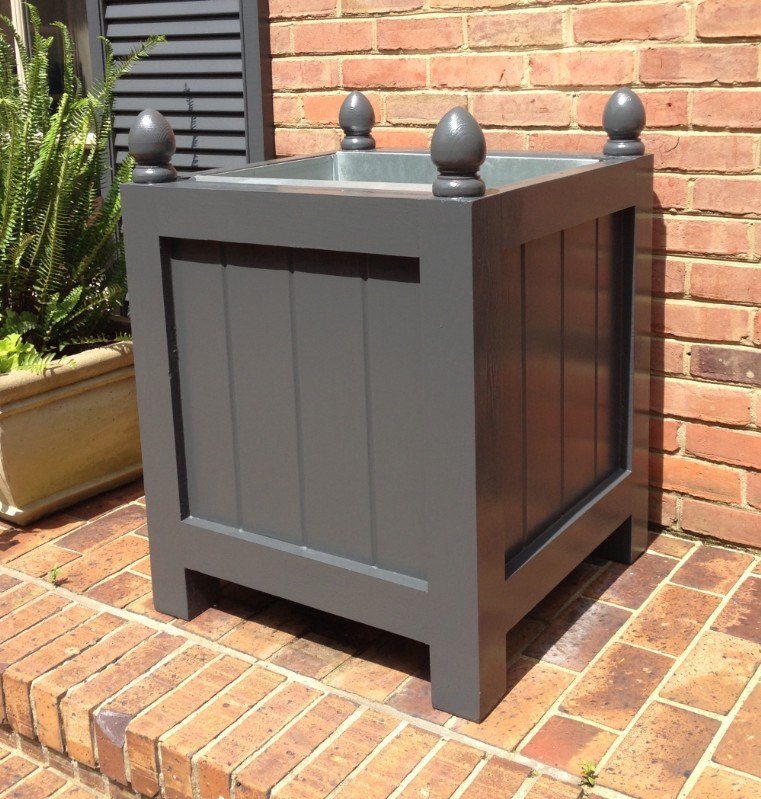 MURLEY - Cedar Orangerie and Composite Planter Box