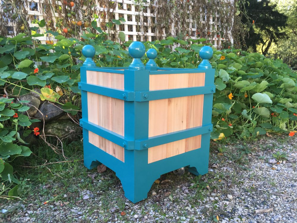 Hadley - French Style Cedar Orangerie Planter Box