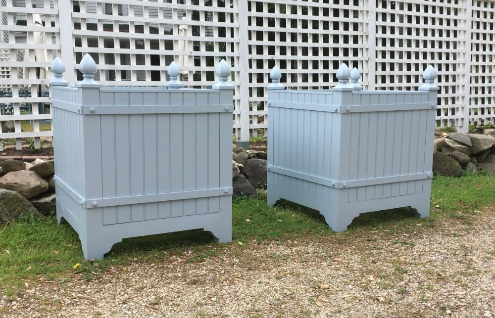 Glencoe - Orangerie Planter Box with Cedar Sides