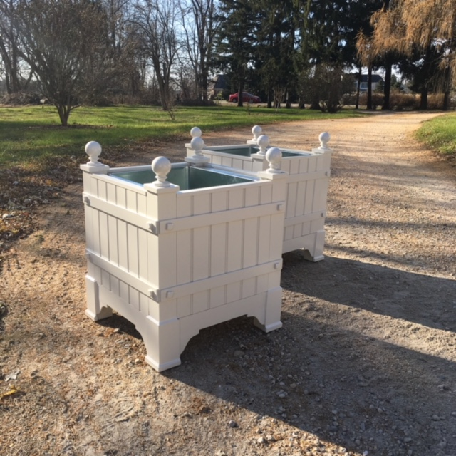 Parisian Aluminum - French Style Orangerie Planter Box