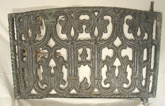 Cast Iron Neo-Gothic Window Guard